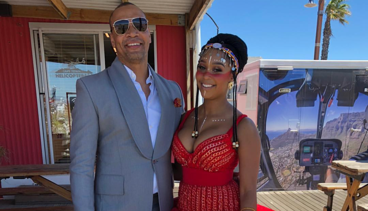 5 Photos Of Zodwa WaBantu In Her Sheer Durban July Outfit