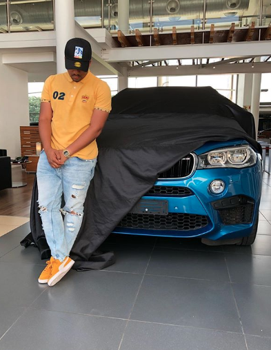 TK Dlamini shows off his expensive new ride - ZAlebs