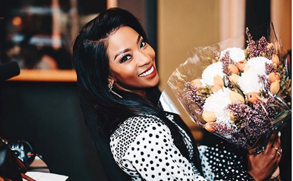 Milk chocolate! Pearl Modiadie Shows Off Mystery Bae - ZAlebs